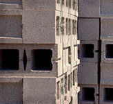 lighweight concrete blocks are made from pumice aggregate